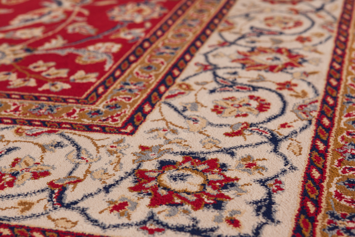 Kashmir Silk Rugs - K01CD Qatar   Aspire Rot 03