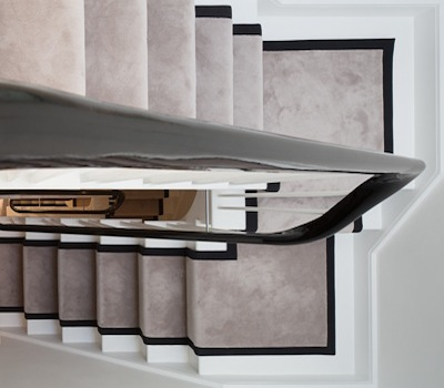 Luxury and bespoke rugs in a range of colours rugmart for Luxury stair carpet