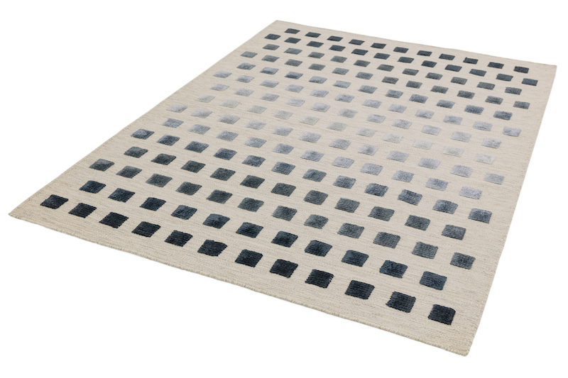 Oteh Silvery Squares - Theo Silvery Squares 1